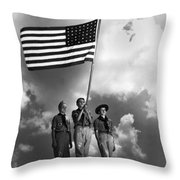 The Boy Scouts Throw Pillow