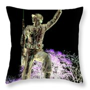 The Brave Throw Pillow