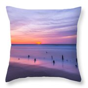 The Breach Throw Pillow