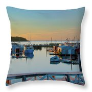 The Break Of A New Day... Throw Pillow
