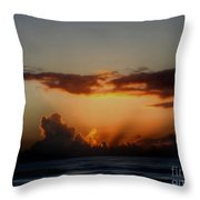 The Breaking Morn Throw Pillow