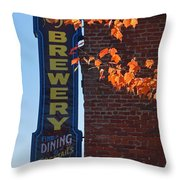 The Brewery Throw Pillow