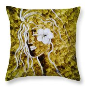 The Runaway Bride Throw Pillow
