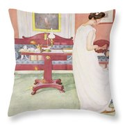 The Bridesmaid, Pub. In Lasst Licht Throw Pillow