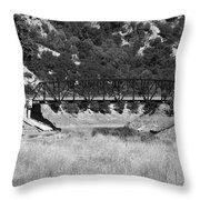 The Bridge 13 Throw Pillow