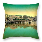 The Bridge 14 Throw Pillow