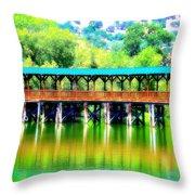 The Bridge 16 Throw Pillow