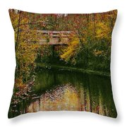 The Bridge Between Heaven And Earth Throw Pillow