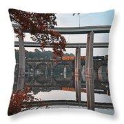 The Bridges At East Falls Throw Pillow