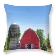 The Bright Farm Throw Pillow