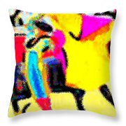 The Brilliance In Bullfighting Throw Pillow