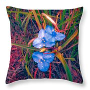 The Brilliance Of Spring Throw Pillow