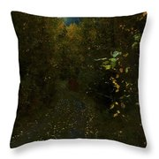 The Brilliance Of The Corn Moon Throw Pillow