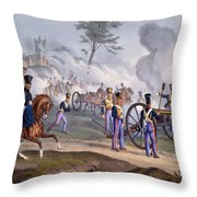 The British Royal Horse Artillery - Throw Pillow by English School