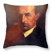 The Brother Of The Painter Throw Pillow