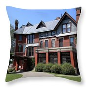 The Brucemore Throw Pillow