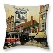 The Brunswick 1916 Throw Pillow