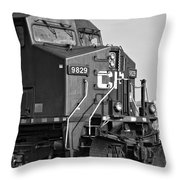 The Brute Monochrome Throw Pillow