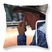 The Buggy Driver Throw Pillow