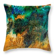 The Bull By Sharon Cummings Throw Pillow