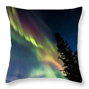 The Burning Tree 2 Throw Pillow