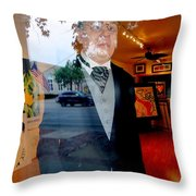 The Butler Throw Pillow