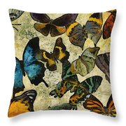 The Butterfly Collection #1 Throw Pillow