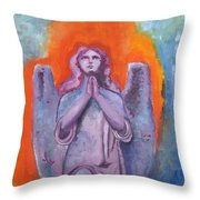 The Calling Throw Pillow by Venus