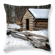 The Camp Throw Pillow