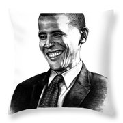 The Candidate Throw Pillow by Todd Spaur