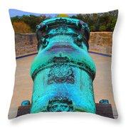The Cannon Sun Throw Pillow