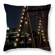 The Capitol Of Harrisburg Throw Pillow