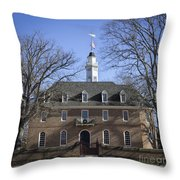 The Capitol Squared Throw Pillow