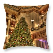 The Capitol Tree Throw Pillow