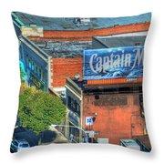 The Captain  Throw Pillow