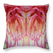 The Carnation Unleashed 3 Throw Pillow