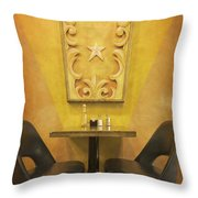 The Carnie's Table Throw Pillow