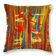 The Carnival Throw Pillow