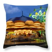 The Carnival Is In Town Throw Pillow