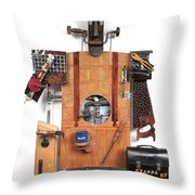 The Carpenter   #16 Throw Pillow