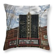 The Carver Theatre In Birmingham Alabama Throw Pillow
