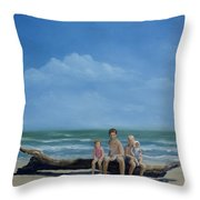 The Castaways Throw Pillow