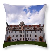 The Castle Of Celle Throw Pillow
