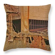 The Catacombs Throw Pillow