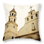 The Cathedral Basilica Throw Pillow