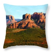The Cathedral Complex Throw Pillow