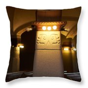 The Cathedral Of Tampere Throw Pillow