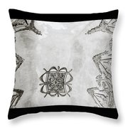 The Ceiling Design Throw Pillow