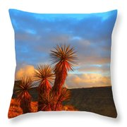 The Cerbat Foothills Throw Pillow