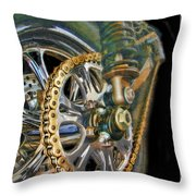 The Chain Throw Pillow